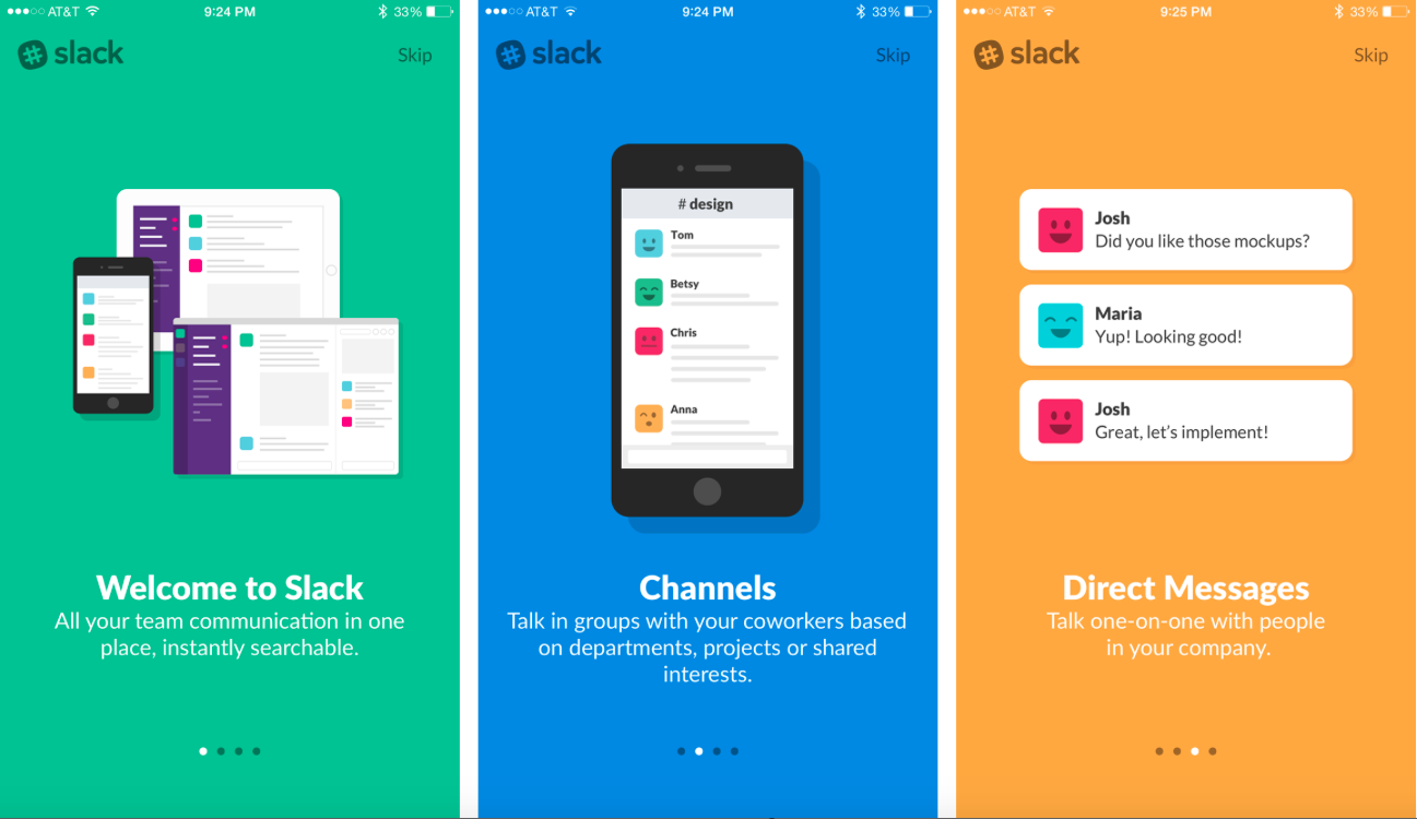 Slack app product manager
